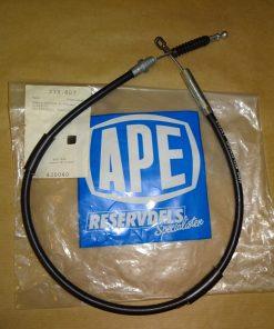 Kopplingswire Opel Ascona A 1.6, 1.9, 1973-75 ( från ch.nr. 3266760-> ) Opel Manta A, 1.6, 1.9, 1973-75 ( från ch.nr. 8009503-> ) Ref.nr. 669050