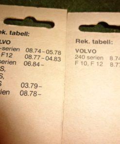 2 st. Bosch Torkarblad Strålkastare, Volvo 240-serien, 08.74-05.78 Även F10, F12, 08.77- 04.83 CH-serien 06.84-> F615S, F616S, F617S, 03.79-> F7-serien, 08.78-> Art.nr. Bosch 3398110189