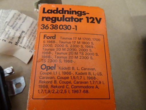 Laddningsrelä Opel, Ford, 12 V