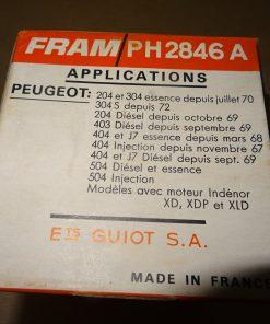 oljefilter Peugeot