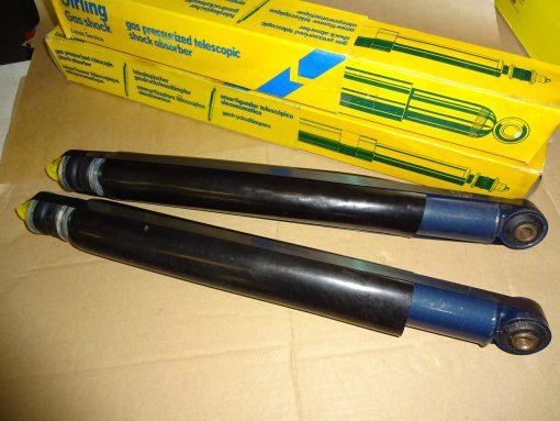 2 st. Gas- Stötdämpare Bak Opel Ascona A, Manta A , 1970-08.75. Opel Ascona B, 09.75-08.81 Opel Manta B, 09.75-88 Opel Commodore, alla modeller, 1972-77 Opel Rekord Berline, Coupé, alla modeller, 1971-76. ( ej kombi ) ( annonsen gäller för 2 st. Gas-stötdämpare )