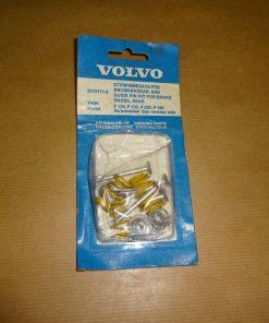 Styrpinnesats för bromsbackar Bak, Volvo Amazon 120, 130, 220, 1962- 70 P 1800, 1961- 69 för Girling, med skivbromsar fram, 1-kretssystem art.nr. Volvo 5273171 / Volvo 273171
