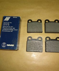 Bromsbelägg Bak, Original SAAB 99,1968- 84 900,1979- 87 90, 1985- 87 System: ATE Original-nr. SAAB 8993230 / SAAB 899323