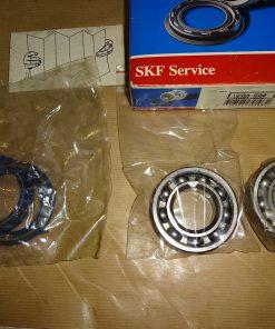 SKF Hjullager bak Volvo 343, 345, med B14-motor, 1976- 82 Volvo 340, 1983- 06.85 ( till ch.nr. - 120999 ) Volvo 66, 1975- 80 Daf 66, 1972- 75 SKF VKBA 599
