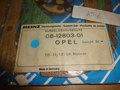 Kompletteringssats Opel Kadett 1.0, 1.1, 1.2 Lit. ( 1966-81 ) art.nr. 08-12803-01 Made in Germany.