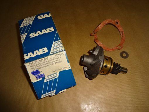 Original SAAB 99, ->1976, 2,0L, Vattenpump med 8 kuggar Art.nr. SAAB 8346546